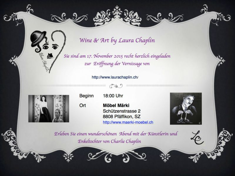 Events Laura Chaplin