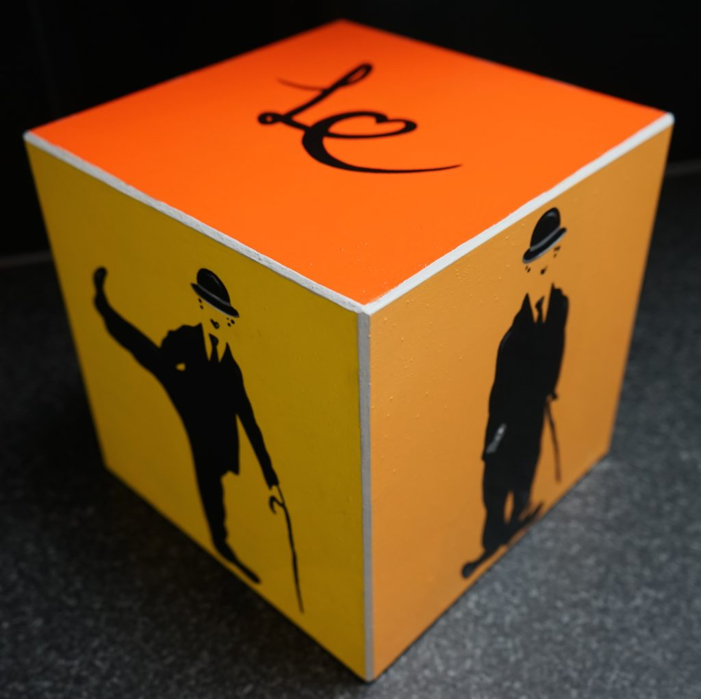 Orange Charlie's box