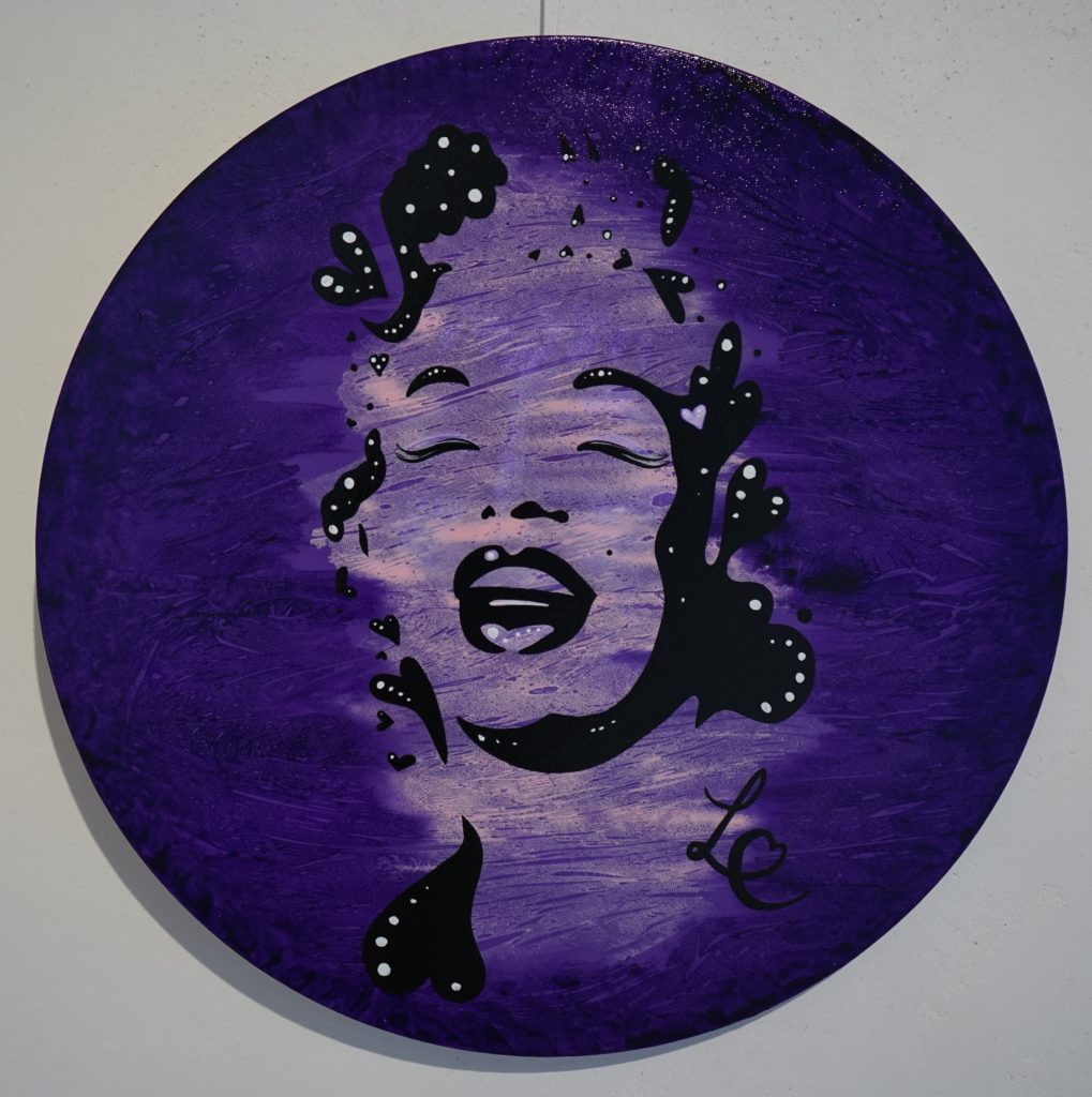 A lovable purple Monroe smile 2-2. 2016
